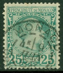 EDW1949SELL : MONACO Scott #6 Very Fine Used with neat dated cancel. Catalog $75