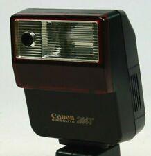 Vintage Canon Speedlite 244T Flash Gun. In Original Pouch, Good Working Order