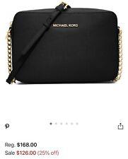 Michael Kors Jet Set Leather Crossbody Michael Kors Hand Bag
