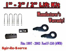 "1997 - 2003 Ford F-150 1"" - 3"" / 2"" Torsion Keys Blocks Lifting Leveling FORGED"