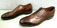 Allen Edmonds Fifth Ave Mens Cap-Toe Leather Oxford Size 8 AAA New In Box