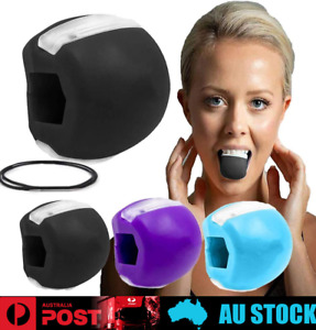 Jaw Face Exerciser Fitness Ball Neck Toner Jawline Shaper Exercise Muscle Toning