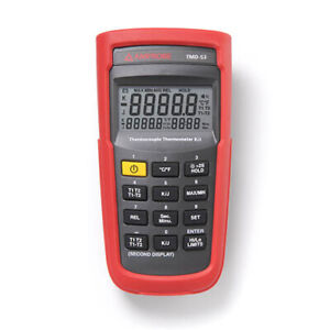 Amprobe TMD-53 K/J Type Dual Input Thermocouple Thermometer