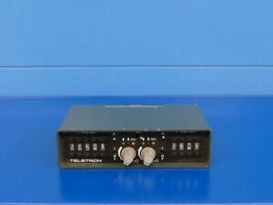 Teletron Doppelbediengerät DBG 724, Funk/BOS/Funkzubehör/Bedienköpfe/Funkgerät