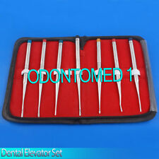 Set of 7 Elevators PDL Precise Tips Dental Surgical Veterinary,DN-444