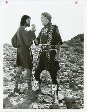 PETER STRAUSS PETER O'TOOLE MASADA ORIGINAL 1983 ABC TV PHOTO