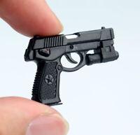 QSZ92 Semi-automatic Pistol Weapon Model 1/6 Scale Plastic Rifle Gun Toy