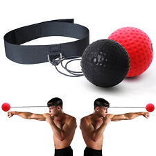 Fight Boxing Ball Reflex Speed Training Headband Boxing Punch Exercise Tools Us