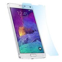3x Matt Schutz Folie Samsung Note 4 Anti Reflex Entspiegelt Display Protector