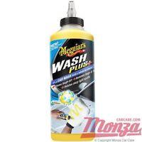 **NEW 2018**  Meguiars Car Wash Plus+ Shampoo **Super Concentrated Formula**