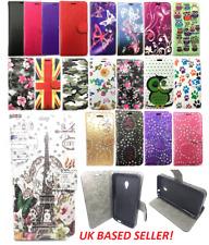 Para Samsung Galaxy S3-i9300-Diseño S III Billetera Abatible Tarjeta caso de cuero con soporte