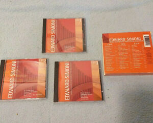 Edward Simoni Panflöte 3er CD Box  (Krt 384)