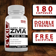 ZMA - 180 Capsules - Zinc Magnesium Vitamin B6 Testosterone Booster Tribulus