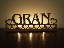 Tea light holder 'Gran' perfect for Granny Birthday, Mother's Day gift