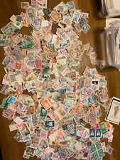 Syria, stamps over 2000 off paper vintage modern mint used RARE