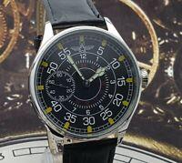 Watch Marriage 3602 OPEN FACE Dress Men's Wristwatch Soviet Vintage Style
