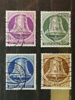 German Stamps -- Germany 1951 9N70-71-73-74