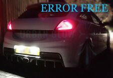 ASTRA H J CORSA C D VXR Xenon White LED Number Plate LIGHT Bulbs ERROR FREE
