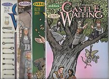 LINDA MEDLEY CASTLE WAITING LOT OF 4 - #12 #13 #14 #16 (NM-)