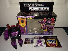 Mindwipe Headmaster G1 Transformers Hasbro 1986 USED Box Instructions Decals +