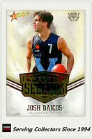 2016 AFL Future Force Trading Card Sheehan Select SS24 Josh Daicos (Coll'wood)