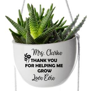 Thank you for Helping Me Grow Vinyl Sticker Teacher Gift Appreciation School End
