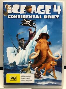 Ice Age 4 - Continental Drift - DVD - AusPost with Tracking