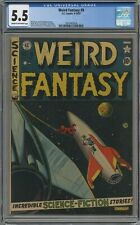 WEIRD FANTASY #9 CGC 5.5 CREAM TO OFF-WHITE PAGES 1951