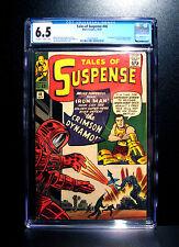 COMICS: Tales of Suspense #46 (1963), 1st Crimson Dynamo app - CGC 6.5 (ironman)