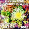 Kanna (Sceletium tortuosum) 100x Extract Powder [5 Grams]