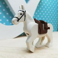 LEGO - Castle Horse Movable Legs with Black Eyes minifigures - 70404 Excellent