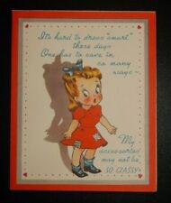 Vintage Unused R.R.H. Valentine Greeting Card