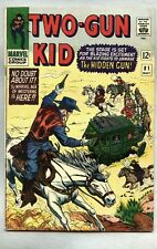 Two-Gun Kid #81-1966 fn- Two Gun Jack Kirby