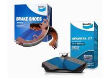 Bendix Brake Pad & Shoe GCT For Holden H Series 70-71 HG DB625GCT-BS1338