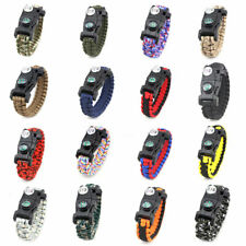 1PC Compass Tool Emergency Survival 20 in 1 Paracord Bracelet SOS Hot