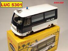 DINKY PAR DAN TOYS PEUGEOT J7 POLICE 500 EX.  #DAN-098 AU 1/43