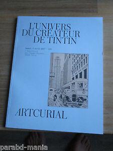 Nouveau ARTCURIAL-L Universo D Hergé-pixi-objets-bd-aroutcheff.estimation, Prix