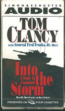 Into the Storm by Tom Clancy & Gen Fred Franks Audiobook Cassette Gulf War 1990