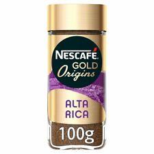 3x Nescafe Gold Origins Alta Rica Instant Coffee 100g
