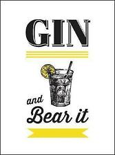 Gin and Bear It (Drinks) by Summersdale, NEW Book, (Hardcover) FREE & Fast Deliv
