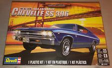 Revell 1969 Chevelle SS 396 1:25 scale model car kit new 4492