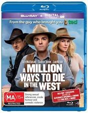 A Million Ways To Die In The West (Blu-ray, 2014)