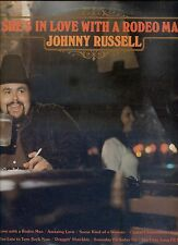 JOHNNY RUSSELL she's in  love with a rodeo man UK 2 1974 EX LP