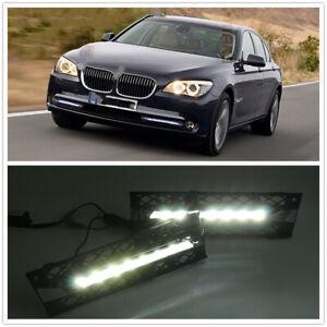 LED Daytime Running Light DRL Fog Lamp For BMW 740i 750i 760i F01 F02 09-12 MO