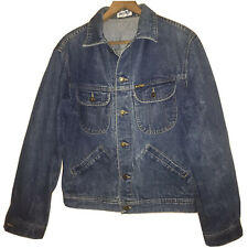Vintage Amco Denim Jacket Made In Hong Kong Size Medium
