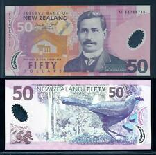 [94988] New Zealand 1999 50 Dollars Polymer Bank Note UNC P188a