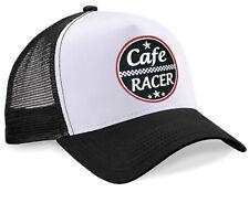 Cafe Racer Trucker Mesh Cap Hot Rod US Car Oldschool Bike V8 Biker Rockabilly
