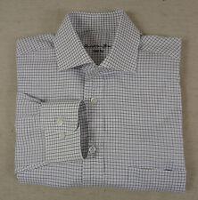Maschinenwäschegeeignete klassische Slim Fit-Herrenhemden mit Kombimanschette