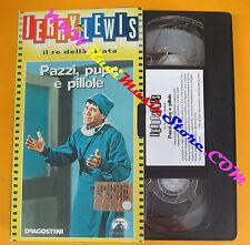 film VHS cartonata PAZZI,PUPE E PILLOLE Jerry Lewis re della risata (F87) no dvd