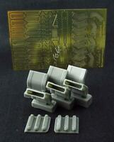 Metallic Details MDR4819 - 1/48 - AH-64 Apache. Exhaust Pipes PE & resin parts